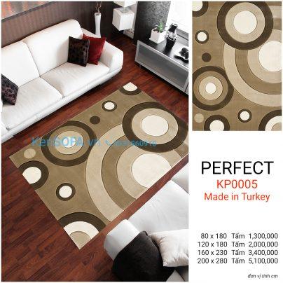Thảm sofa cao cấp PERFECT KP0005