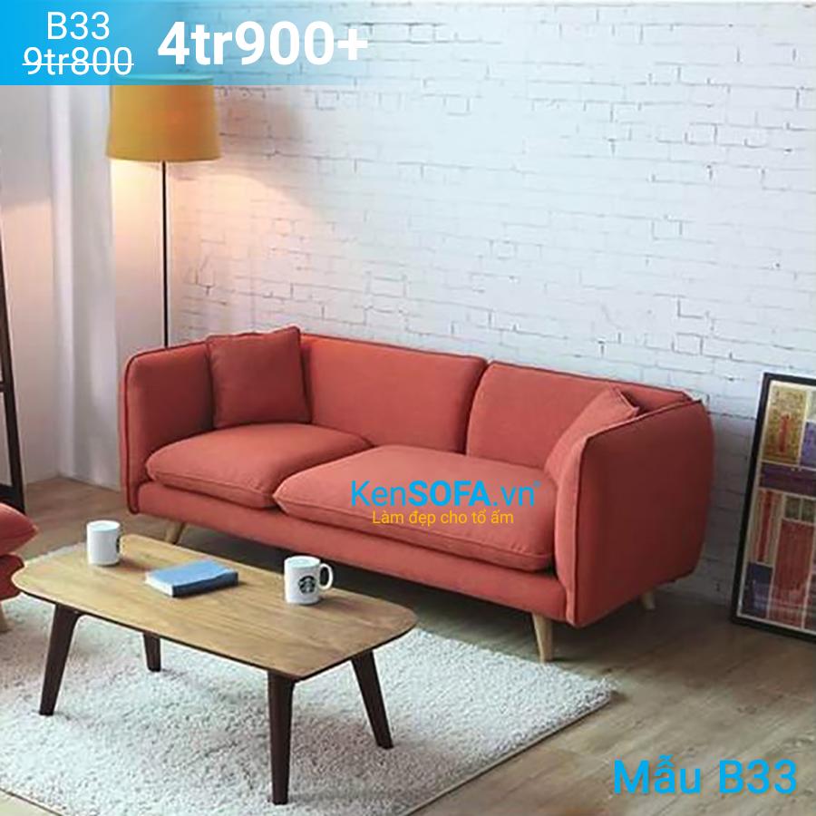 Ghế sofa băng B33