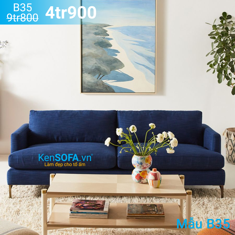 Ghế sofa băng B35