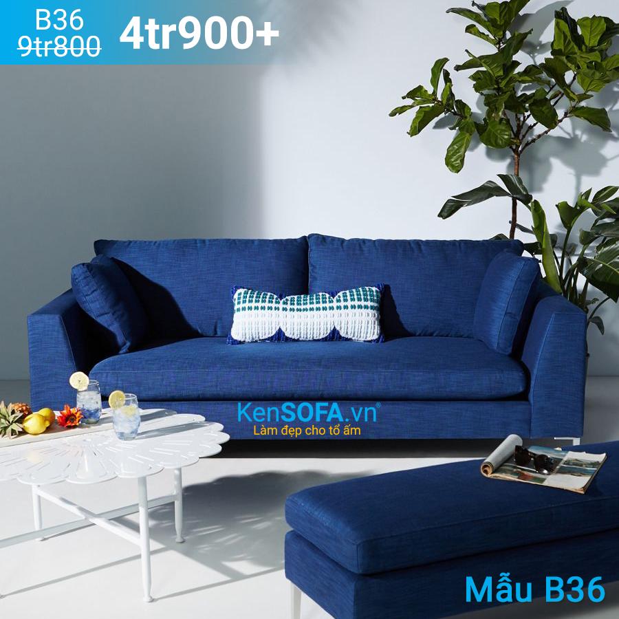 Ghế sofa băng B36