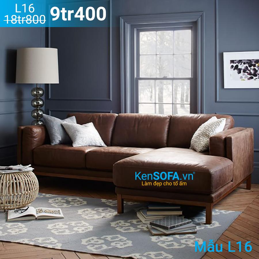 Ghế sofa góc L16