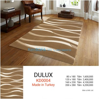 Thảm sofa cao cấp DULUX KD0004