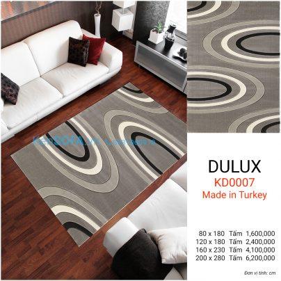 Thảm sofa cao cấp DULUX KD0007