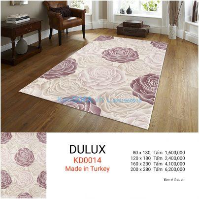 Thảm sofa cao cấp DULUX KD0014