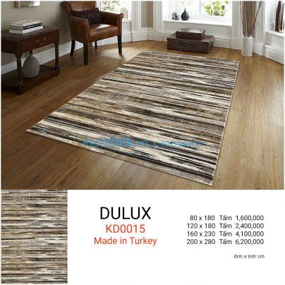 Thảm sofa cao cấp DULUX KD0015