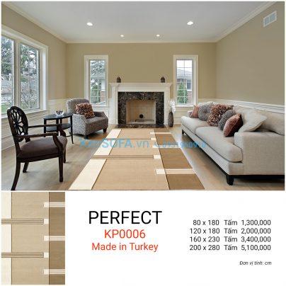 Thảm sofa cao cấp PERFECT KP0006