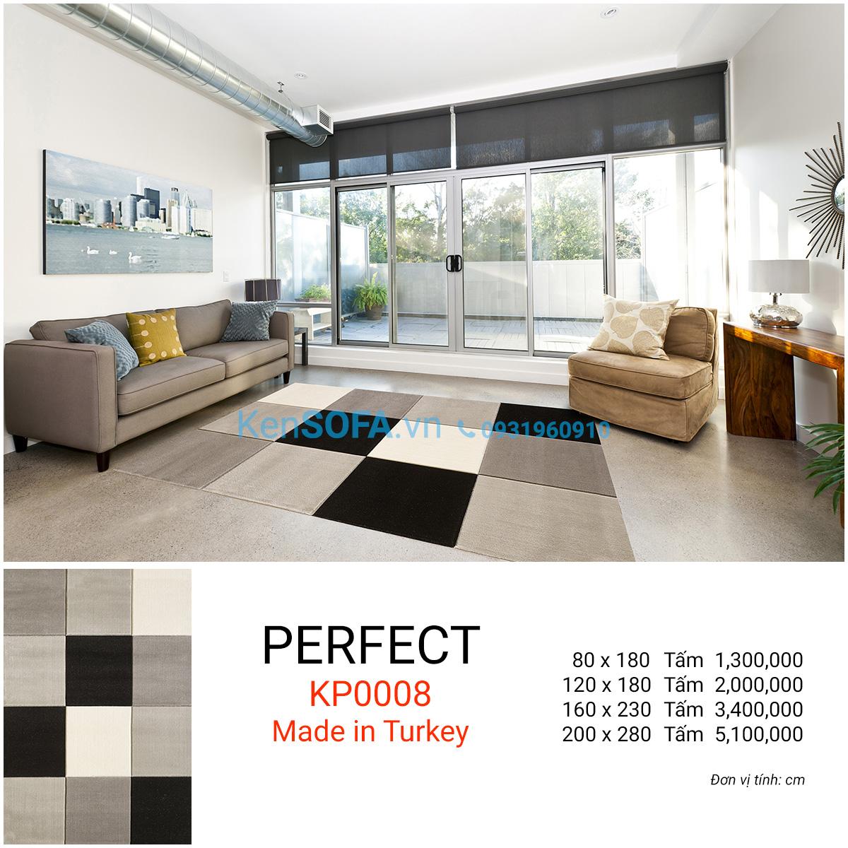 Thảm sofa cao cấp PERFECT KP0008