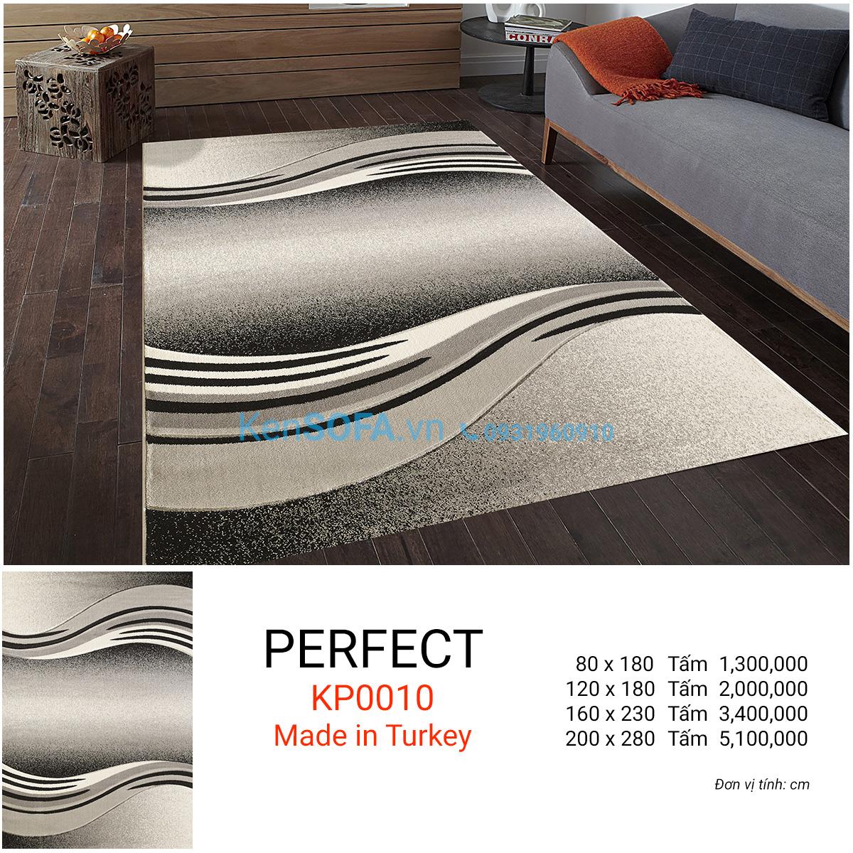 Thảm sofa cao cấp PERFECT KP0010