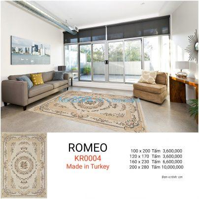 Thảm sofa cao cấp ROMEO KR0004