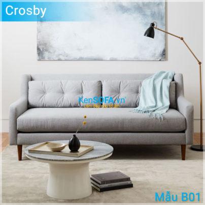 Sofa băng B01 Crosby