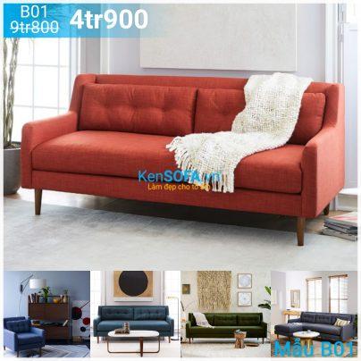 Ghế sofa băng B01