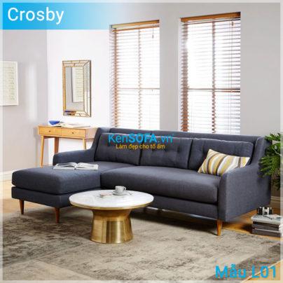 Sofa góc L01 Crosby