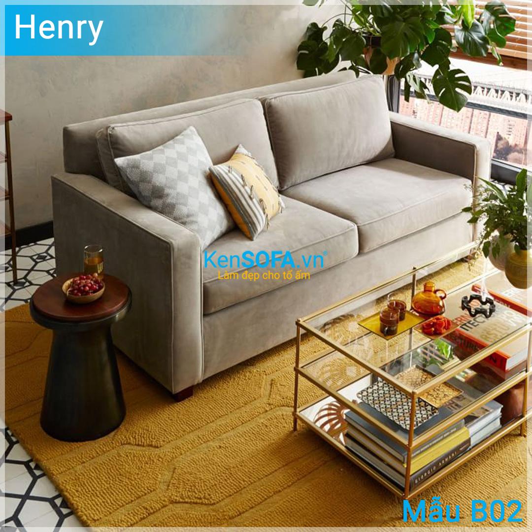 Sofa băng B02 Henry