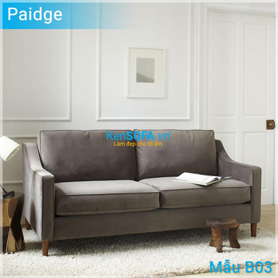 Sofa băng B03 Paidge