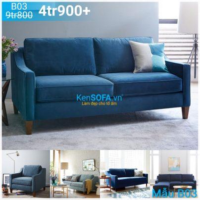 Sofa băng nhỏ cho phòng khách