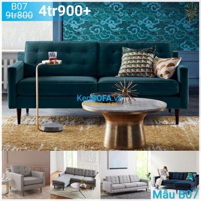 Ghế sofa băng B07