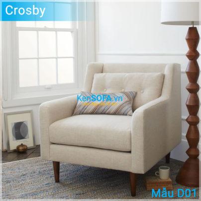 Sofa đơn D01 Crosby