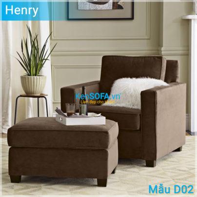 Sofa đơn D02 Henry