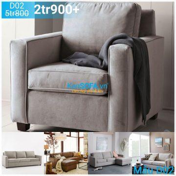 Ghế sofa đơn D02