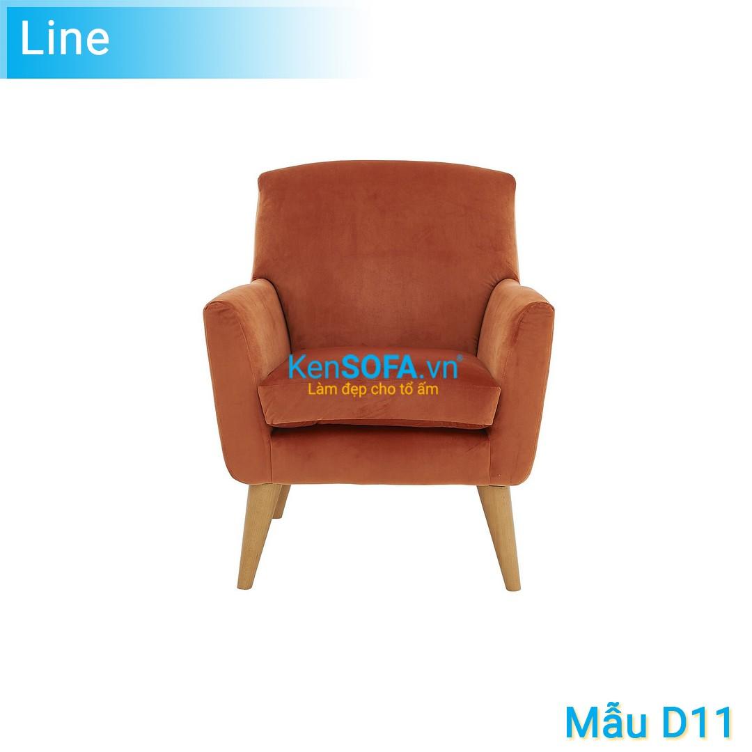 Sofa đơn D11 Line