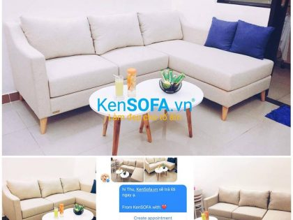 Ghế sofa căn hộ L03