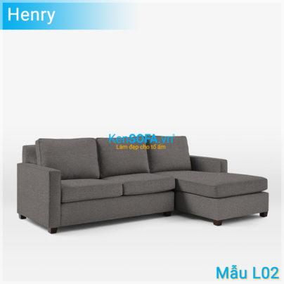 Sofa góc L02 Henry