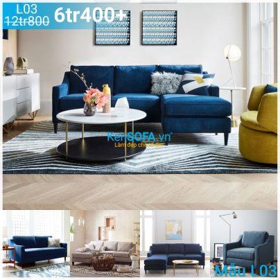 Ghế sofa góc L03