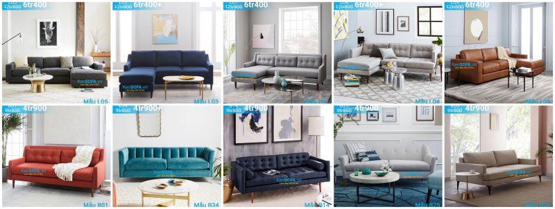 sofa khuyến mãi 2019