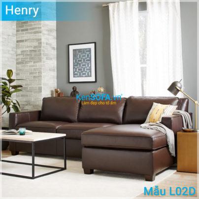Sofa góc L02D Henry da