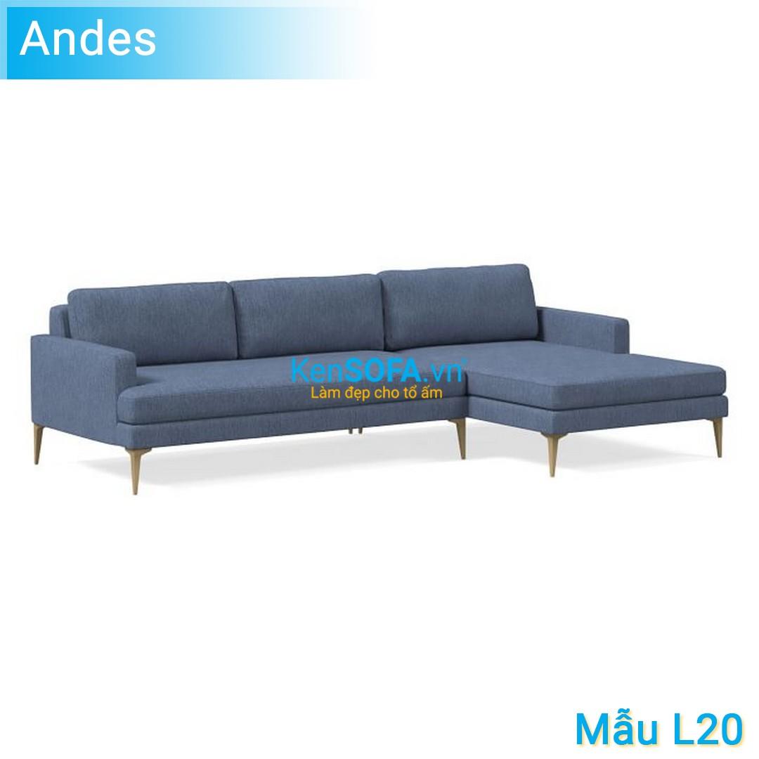 Sofa góc L20 Andes