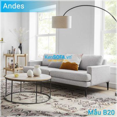 Sofa băng B20 Andes
