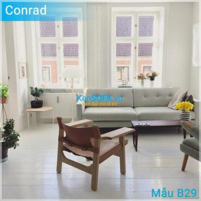 Sofa băng B29 Conrad