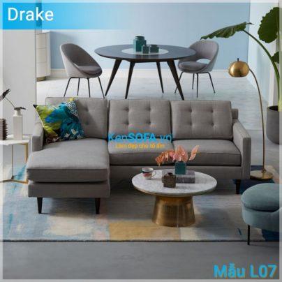 Sofa góc L07 Drake