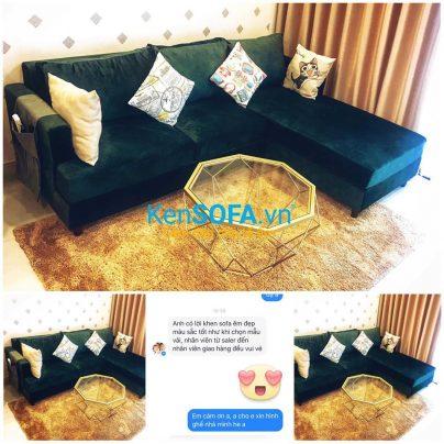 Ghế sofa góc L14