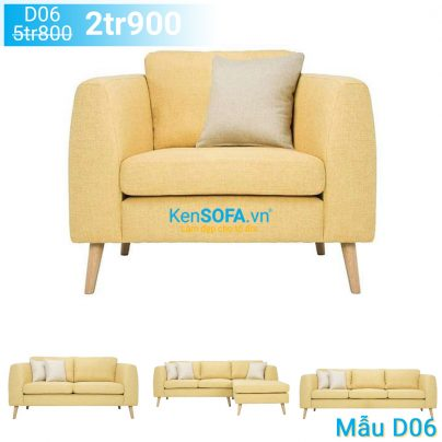 Ghế sofa đơn D06