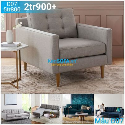 Ghế sofa đơn D07