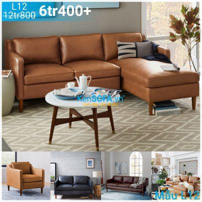 Ghế sofa góc L12