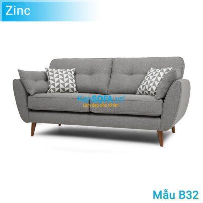 Sofa băng B32 Zinc