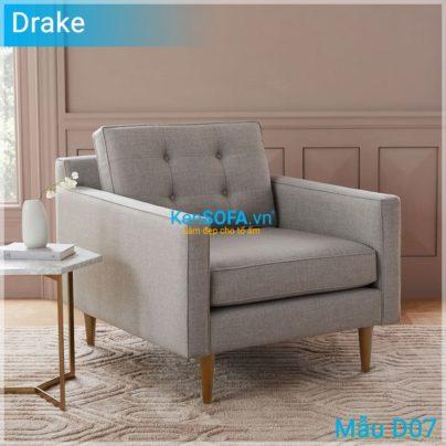 Sofa đơn D07 Drake