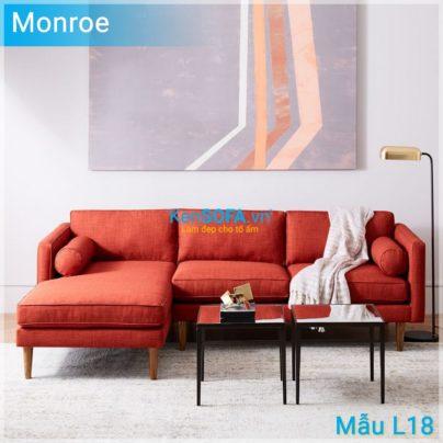 Sofa góc L18 Monroe
