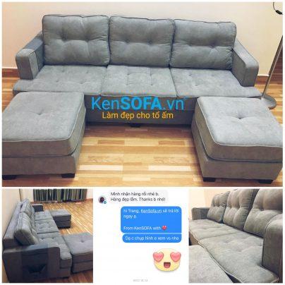 Ghế sofa băng 3 chỗ B043