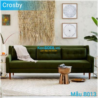 Sofa băng B013 Crosby 3 chỗ