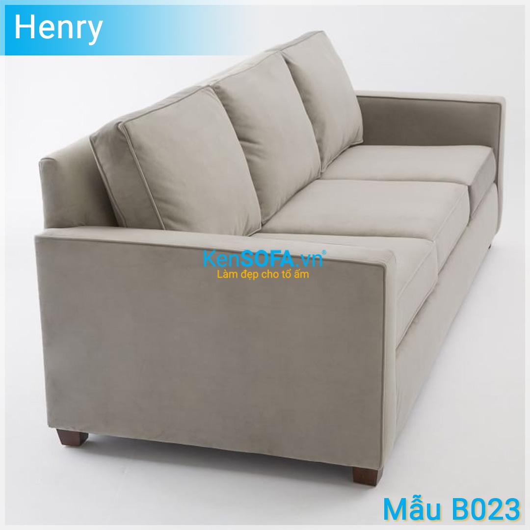 Sofa băng B023 Henry 3 chỗ