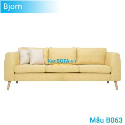 Sofa băng B063 Bjorn 3 chỗ
