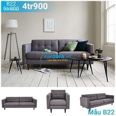 Ghế sofa băng B22