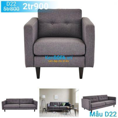 Ghế sofa đơn D22