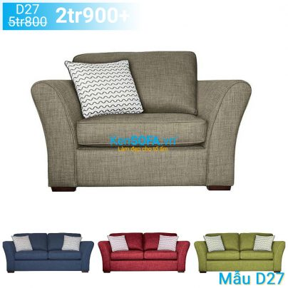 Ghế sofa đơn D27