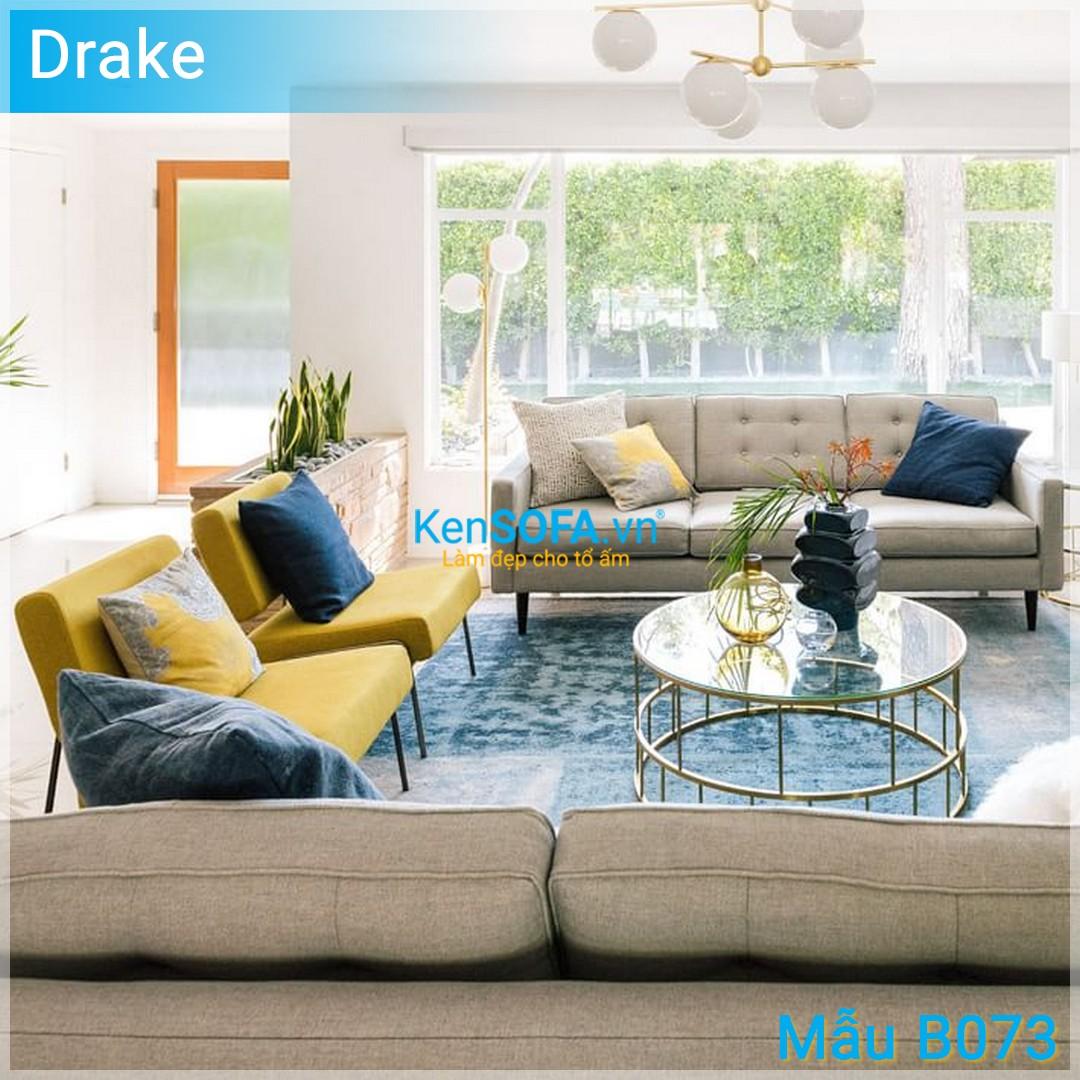 Sofa băng B073 Drake 3 chỗ