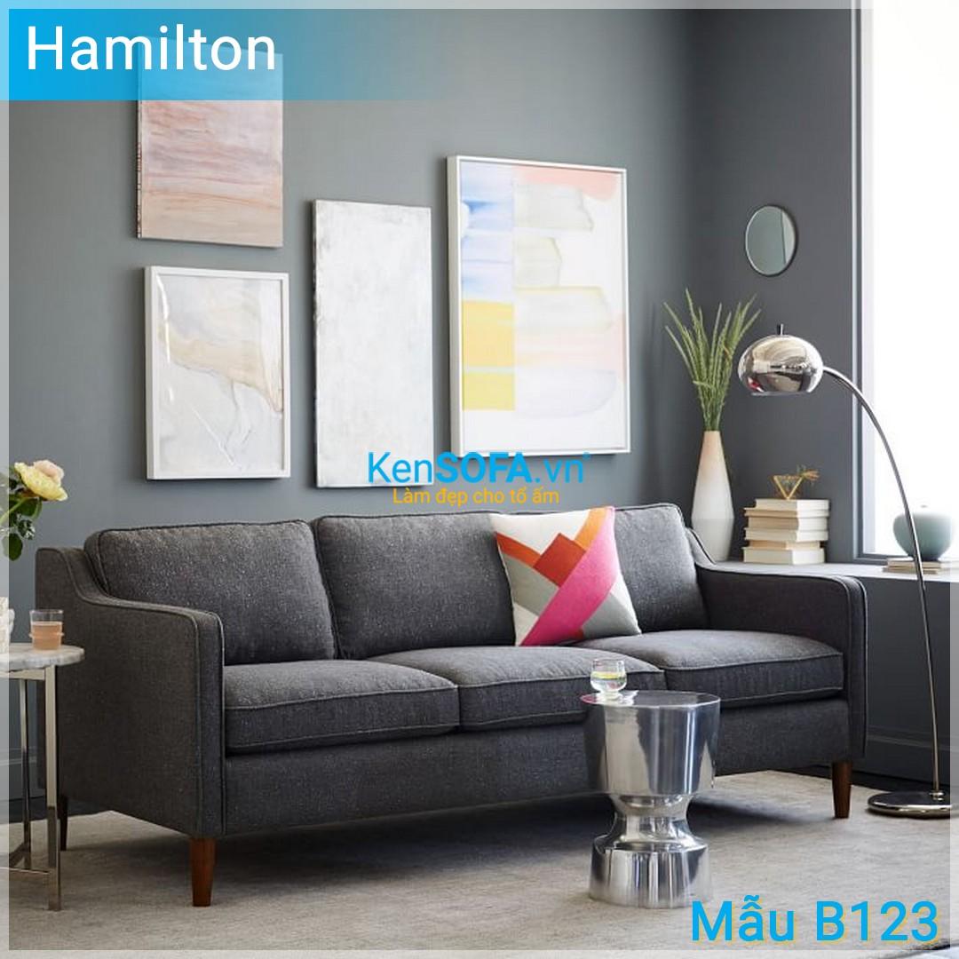 Sofa băng B123 Hamilton 3 chỗ