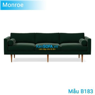 Sofa băng B183 Monroe 3 chỗ